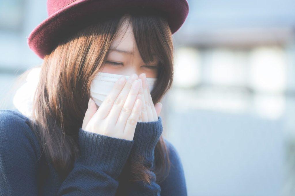 マスク・花粉症・くしゃみ・風邪・ドラッグストア