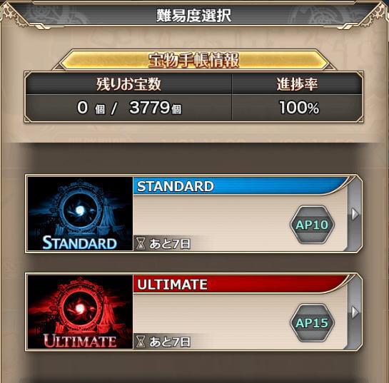 迷宮踏破ST10・ULT15