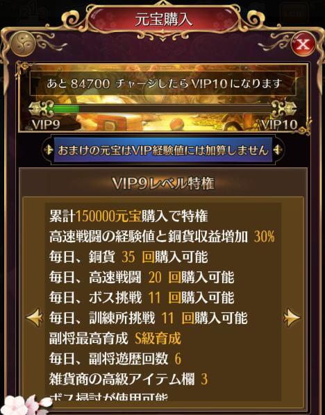 メインアカウントVIP330,600